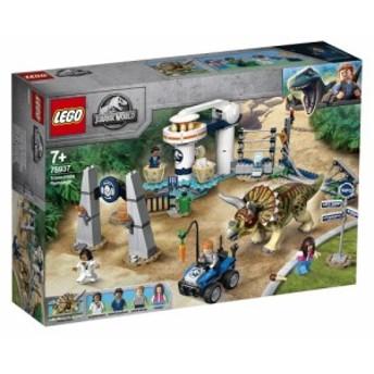 送料無料 レゴ トリケラトプスの暴走 75937 おもちゃ こども 子供 レゴ ブロック LEGO