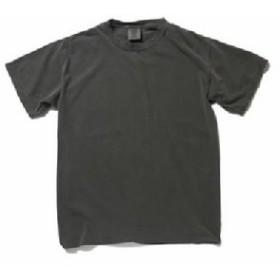50回ウォツシュ加工ガーメント後染め6.2オンスヘビーウェイトTシャツ ペッパー L