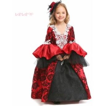 ハロウイン仮装 イベント ステージ衣装 子供コス 学園祭 プリンセス 子供用コスプレ Halloween ハロウイン コスチューム 衣装仮装 ドレス