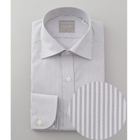 gotairiku / ゴタイリク 【形態安定】【SLIMFIT】PREMIUMPLEATS ドレスシャツ / ロンドンストライプ