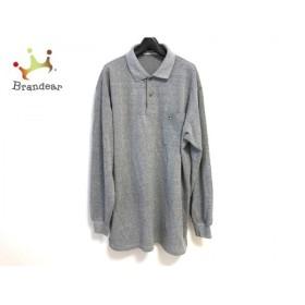 マンシングウェア Munsingwear 長袖ポロシャツ サイズL メンズ ライトグレー GRAND SLAM 新着 20190718
