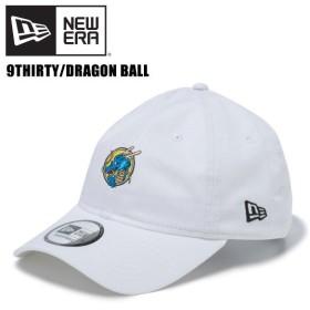 ニュー エラ NEW ERA  9THIRTY クロスストラップ DRAGON BALL ドラゴンボール タイトル   White   龍 キャップ 帽子 男性用[BB]