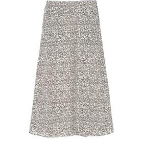 【6,000円(税込)以上のお買物で全国送料無料。】ジョーゼット花柄スカート