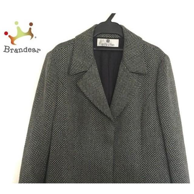 ジバンシー GIVENCHY コート サイズ42 L レディース 美品 白×黒×ベージュ 春・秋物 新着 20190718