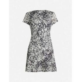 トップショップ TOPSHOP レディース ワンピース ワンピース・ドレス Animal-print mesh dress Multi
