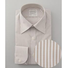 [マルイ] 【形態安定】PREMIUMPLEATS ドレスシャツ / ロンドンストライプ/五大陸(gotairiku)