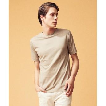トゥモローランド スヴィンジャージー クルーネックTシャツ メンズ 45ベージュ L 【TOMORROWLAND】
