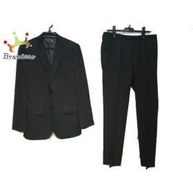 ダナキャラン DKNY シングルスーツ サイズ36 S メンズ 美品 黒 ストライプ  値下げ 20190924