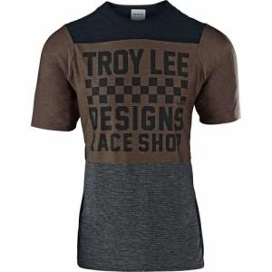 Troy Lee Designs Mountain Bike Jersey SKYLINES//S JERSEY; CHECKER BLK//GRY XL