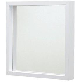AZUMAYA ミラー Lサイズ ホワイト色 MU-034WH