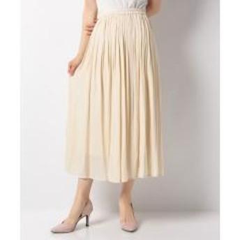 ヴィンテージサテンギャザースカート