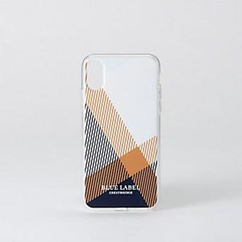 【ブルーレーベル・クレストブリッジ 】クレストブリッジチェックiPhoneケース