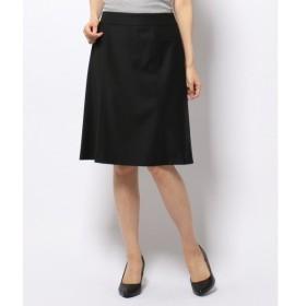 S size ONWARD(小さいサイズ) / エスサイズオンワード 【セットアップ対応】ファインネスウール フレア スカート