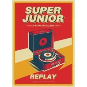 Super Junior スーパージュニア / 8集 Repackage: REPLAY【CD】