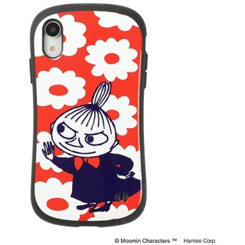 [iPhone XR専用]ムーミンiFace First Classケース 41-904510 リトルミイ/花柄