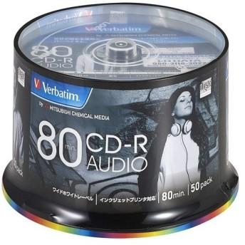 バーベイタム 音楽用CD-R 48倍速 MUR80FP50SV2 ( 50枚入 )/ バーベイタム