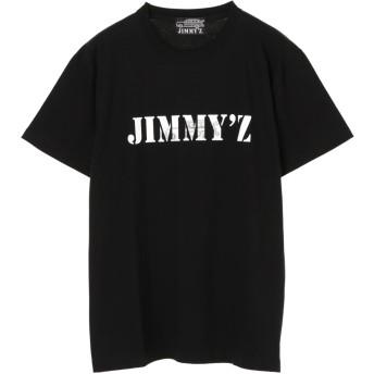 【6,000円(税込)以上のお買物で全国送料無料。】【JIMMY'Z】BACKプリントロゴTシャツ