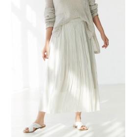 GALLARDAGALANTE(ガリャルダガランテ)/シャイニープリーツスカート