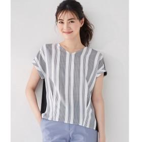[マルイ] 【安座間美優着用】Crossed Stripe 半袖カットソー/アイシービー(ICB)