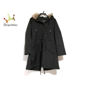 インゲボルグ INGEBORG コート サイズ9 M レディース 美品 黒 冬物/ファー 新着 20190717