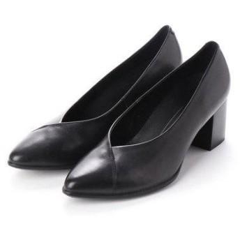 エコー ECCO SHAPE 45 POINTY BLOCK Shoe (BLACK)