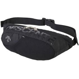 デサント(DESCENTE) 2WAYウェストバッグ ブラック×ブラック DMAOJA77 BKBK ウエストバッグ ウエストポーチ スポーツバッグ