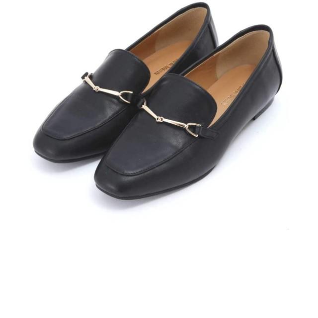 【公式/NATURAL BEAUTY BASIC】ソフトビットローファー/女性/靴・パンプス/クロスムース/サイズ:L/(甲皮の使用材)合成皮革(底材の種類)合成底