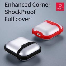 XUNDD AirPods 藍牙耳機盒甲蟲殼保護套