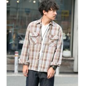 [マルイ] メンズシャツ(Wrangler×Sonny Label 別注コットンヘビーネルシャツ)/アーバンリサーチ サニーレーベル(メンズ)(URBAN RESEARCH Sonny Label)