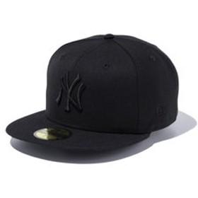 【Super Sports XEBIO & mall店:帽子】59FIFTY MLB ニューヨーク・ヤンキース キャップ ブラック×ブラック 11308579