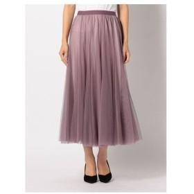 MEW'S REFINED CLOTHES(ミューズ)チュールミモレスカート