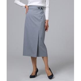 UNTITLED(アンタイトル) ◆【洗える】ラップデザインスカート