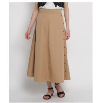 AG by aquagirl(エージー バイ アクアガール)【Lサイズあり/洗える】サイドボタンロングスカート
