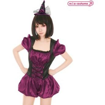 1105B★ML【送料無料・即納】 naughty pixie ハッピーエンドウィッチ サイズ:M/L 魔女コスプレ z048
