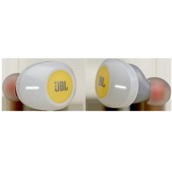 フルワイヤレスイヤホン イエロー JBLT120TWSYEL