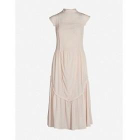クロエ SEE BY CHLOE レディース ワンピース ワンピース・ドレス Sleeveless high-neck crepe midi dress Smoky pink