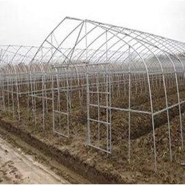 【單體溫室大棚-GP-622-0625】溫室大棚骨架 GP-622型號 熱鍍鋅 寬6米長25米間距1米 肩高1.5米頂高2.5米,不含運費(預購&海運)-5101005