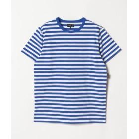 (agnes b./アニエスベー)J008 TS ボーダーTシャツ/メンズ ブルー
