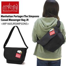 マンハッタン ポーテージ×シンプソンズ Casual Messenger Bag JR(MP1605JRSIMPSONS)メッセンジャーバッグ [BB]