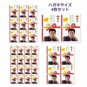 キムナムギル キム・ナムギル ほんの気持ち ラッピング シール 4枚セット ステッカー 韓流 グッズ fv034-1