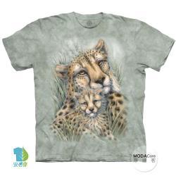 摩達客(預購)(3XL)美國進口The Mountain獵豹窩 純棉環保藝術中性短袖T恤
