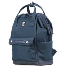 (Bag & Luggage SELECTION/カバンのセレクション)モズ リュック moz レディース メンズ デイパック リュックサック ZZCI-07a 口金 がま口 マザーズ バッグ ママ 北欧/ユニセックス ネイビー