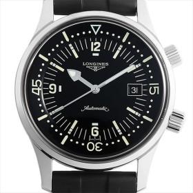 48回払いまで無金利 ロンジン レジェンド ダイバー L3.674.4.50.9 中古 メンズ 腕時計