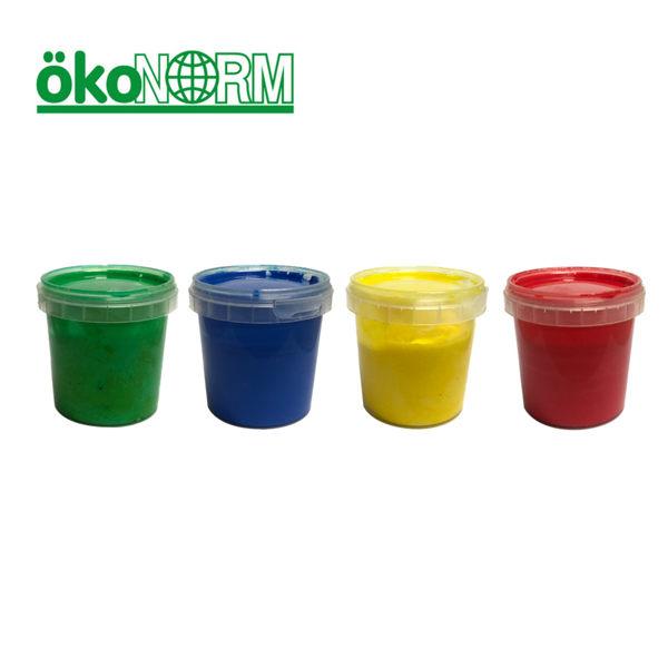 德國【ökoNorm】安全無毒手指塗鴉顏料 (4色好玩組)