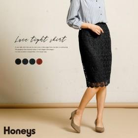 Honeys ハニーズ レースタイトスカート