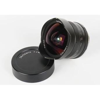交換レンズ【新品】7artisans 七工匠 7.5mm f2.8 魚眼レンズ キヤノンEOS-Mマウントカメラ用 マニュアルフォーカス