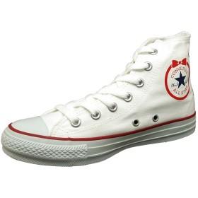 [コンバース] ALL STAR RIBBONPATCH HI オールスター リボンパッチ ハイ シスターズ レディース (US5.5/24.5cm, 5SC007【ホワイト】)