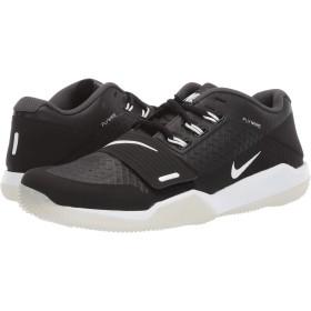 [ナイキ] メンズフットボール・アメフトシューズ・靴 Alpha Menace Turf Low Black/White/Anthracite 8.5 (26.5cm) D - Medium [並行輸入品]