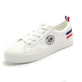 [EWET] 原宿の白い靴の春の新しい野生の白い靴フラットスポーツシューズ韓国語版 (色 : A, サイズ さいず : 39)