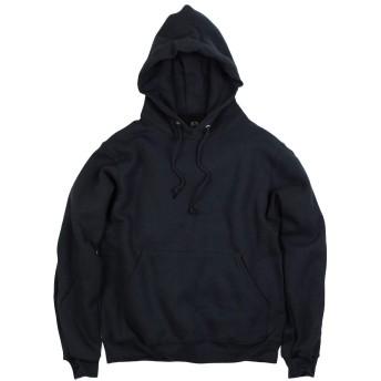 [フルーツオブザルーム] FRUIT OF THE LOOM 82130R プルオーバー フード スウェット ブラック XL